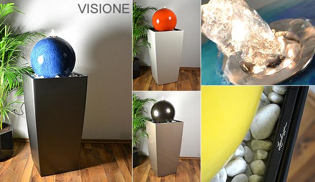 keramikkugelbrunnen kugelbrunnen aus keramik auf. Black Bedroom Furniture Sets. Home Design Ideas
